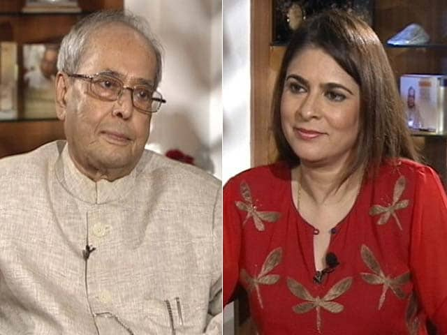 Video : The NDTV Dialogues With Former President Pranab Mukherjee