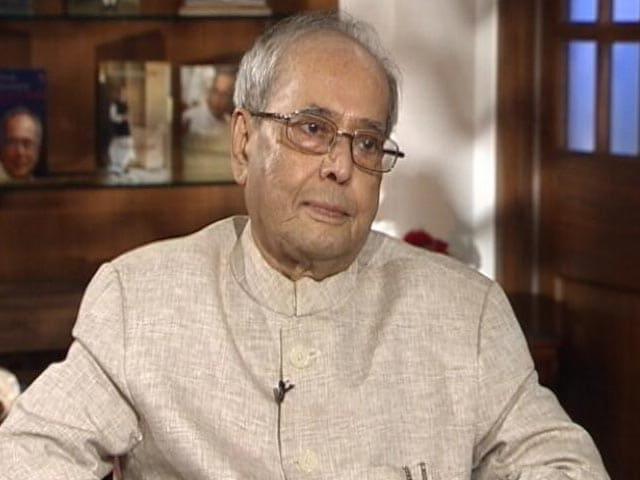 Video : Pranab Mukherjee On Sonia Gandhi's Decision To Not Choose Him As PM