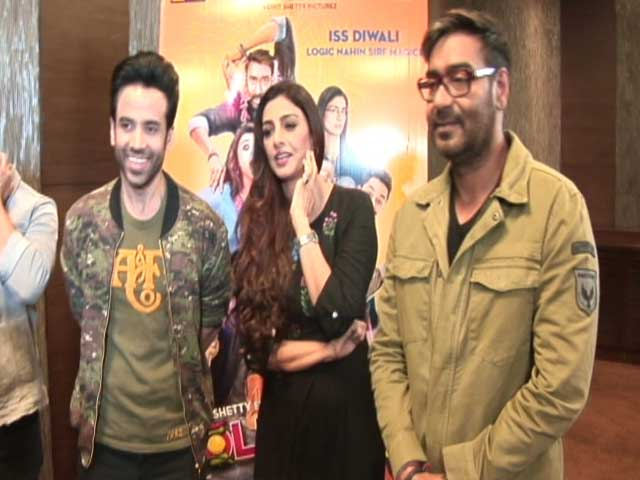 Video : <i>Golmaal Again</i>: Tabu Knew 'What She Was Getting Into'