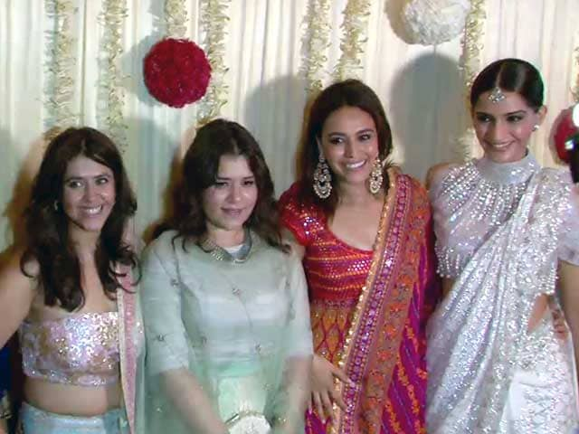 Bollywood Stars At Ekta Kapoor's Diwali Party
