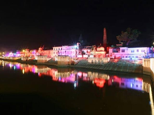Video : 1.75 Lakh Diya, Ram-Sita In Chopper For Yogi Adityanath's Ayodhya Diwali