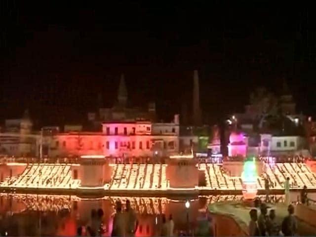 Video : बड़ी खबर : अयोध्या में मनाई जा रही है ऐतिहासिक दीवाली