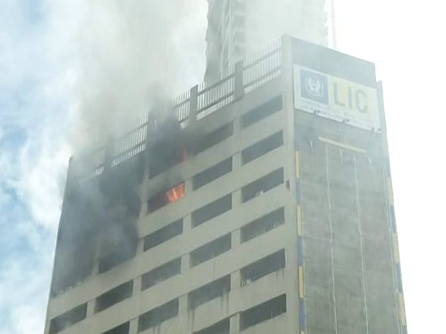 Video : Massive Fire Breaks Out In 19-Floor Building In Kolkata