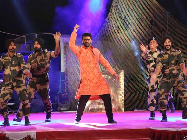 Video : Jai Jawan: Kabaddi, Dance And Arjun Kapoor's <i>Tevar</i>