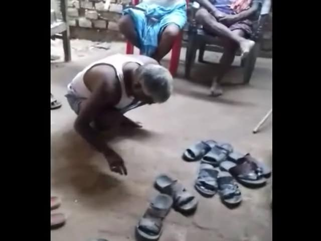 Videos : बिहार : पंचायत ने एक व्यक्ति को थूक चाटने के लिए मजबूर किया