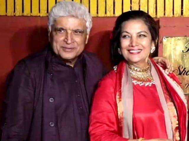 Javed Akhtar & Shabana Azmi's Diwali Party