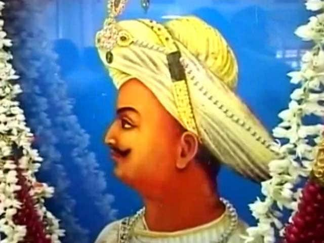 Video : BJP, Congress In War Of Words Ahead Of Tipu Sultan's Birth Anniversary