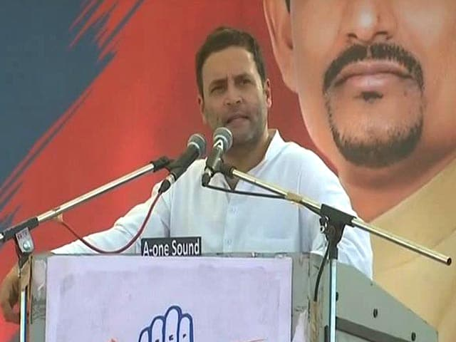 Video : Rahul Gandhi vs BJP Goes Filmy: '<i>Gabbar Singh</i> Tax' And '<i>Dramebaaz</i> No 1'