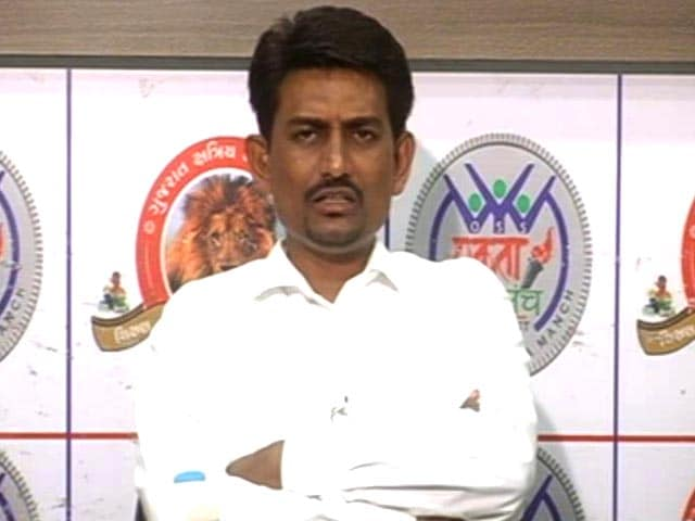 Video : Gujarat OBC Leader Alpesh Thakor On Why He Picked the Congress