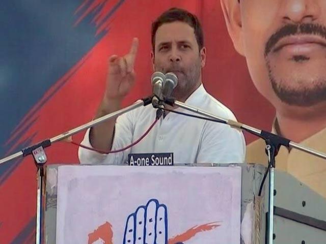 Video : MoJo: गांधीनगर रैली में राहुल गांधी ने पीएम मोदी पर जमकर साधा निशाना