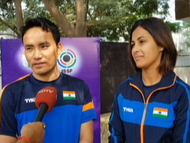 Videos : ISSF विश्व कप  में गोल्ड जीतने वाले जीतू राय-हीना सिद्धू से विशेष बातचीत