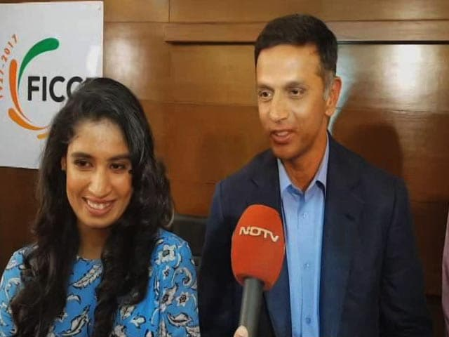 Video : Rahul Dravid Lauds Indian Women Cricket Team