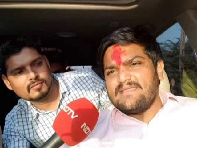 Video : 'BJP Tried To Buy Me Out, I Refused': Hardik Patel To NDTV
