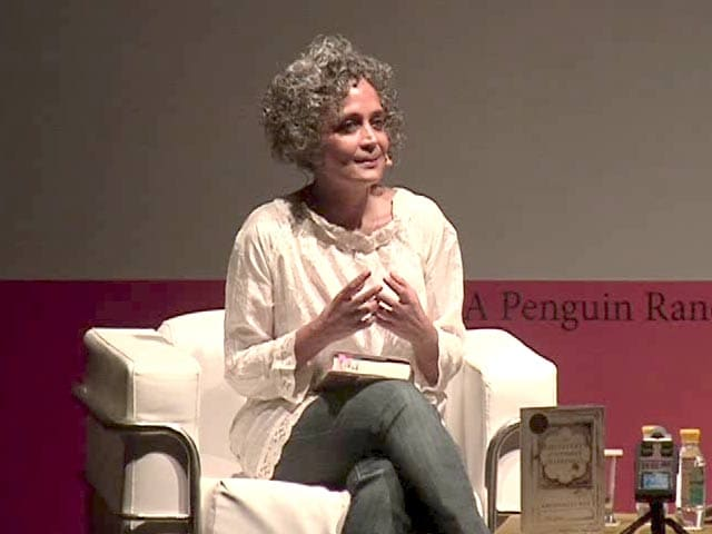 Video : Want To Write About Air We Breathe, But It Has Caste, Gender: Arundhati Roy