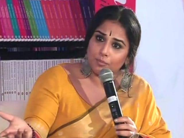 Vidya Balan On How She Sees The Debate Over National Anthem In Cinemas