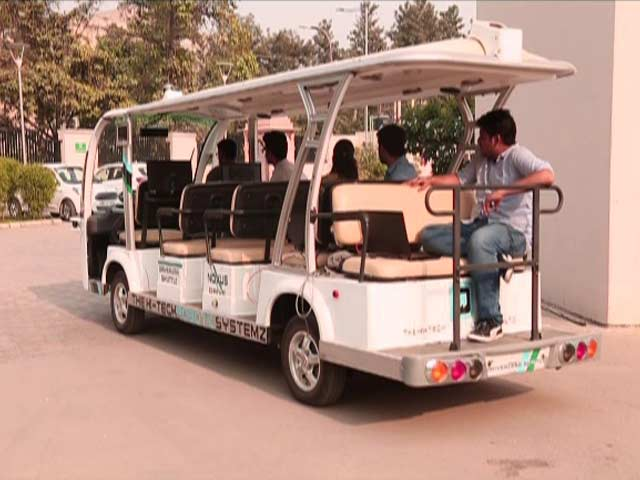 Video : Autonomous Indian Vehicles From Hi-Tech Robotics