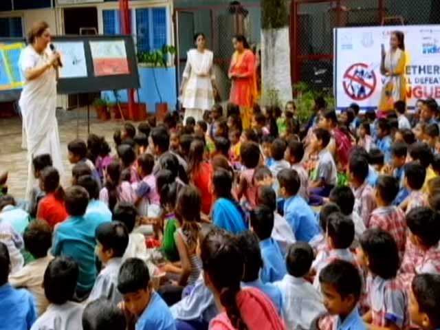 Video : Welham Boys' School, Dehradun Donate Dengue Protection Kits To The Underpriviledged