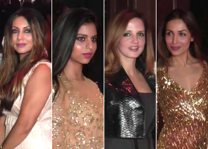Bollywood Stars At Gauri Khan's Halloween Party