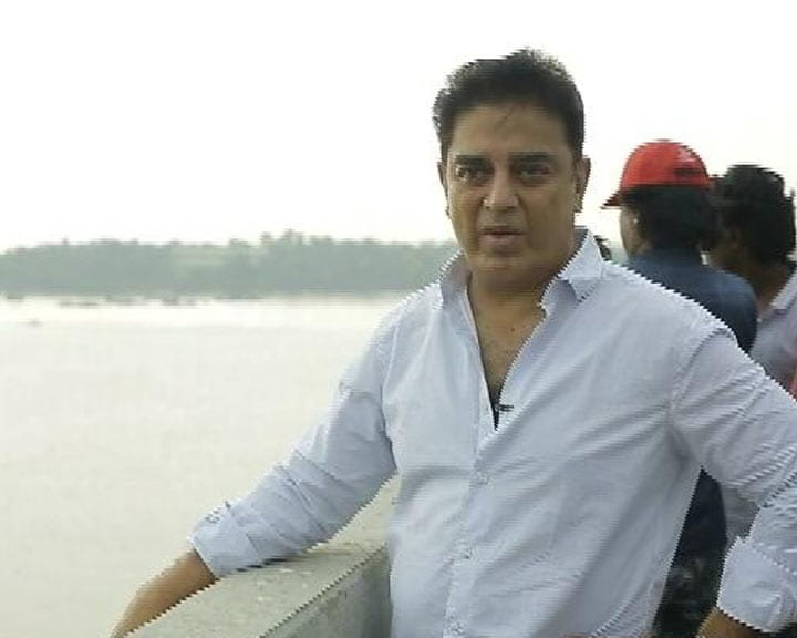 Video : Kamal Haasan Visits Ennore Creek In Chennai, Raises Looming Crisis