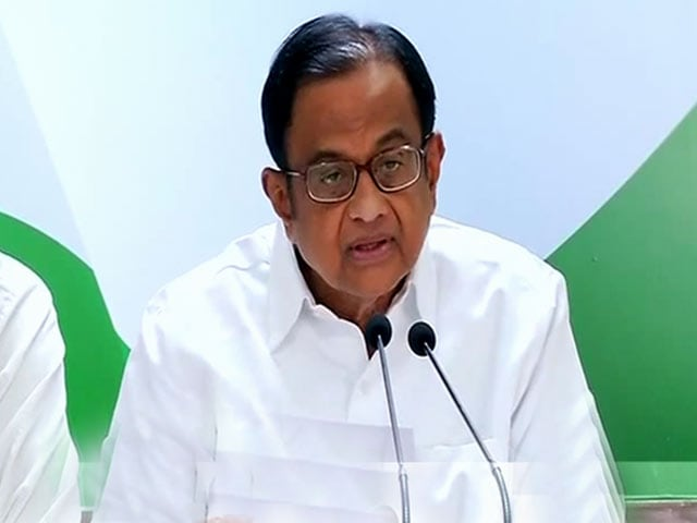 Video : When People Of Kashmir Ask For 'Azadi', Most Want Autonomy: Chidambaram