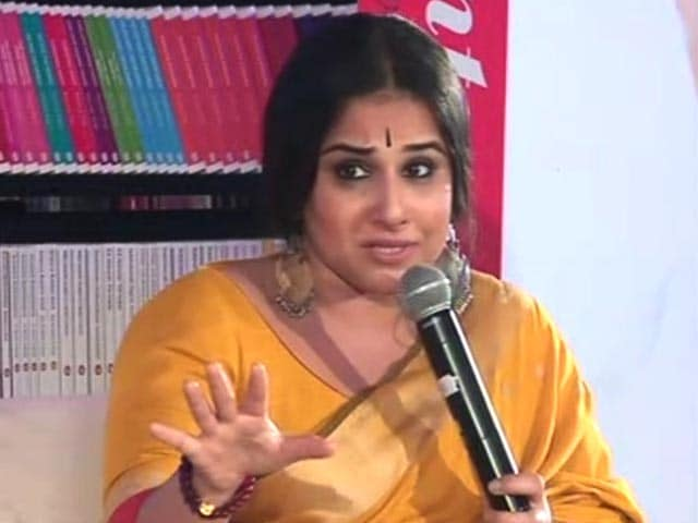 Video : Vidya Balan On Why Bollywood Is Scared Of Voicing Political Opinions