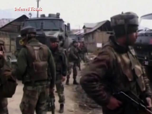 Video : Constable Killed In Encounter With Terrorists In Jammu And Kashmir's Bandipora