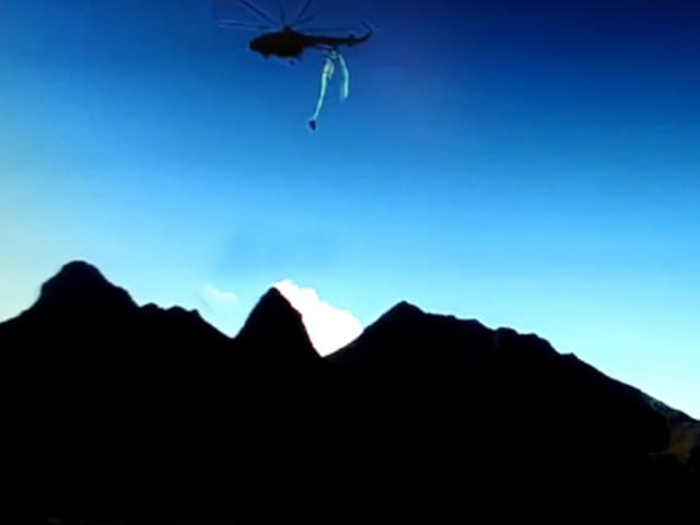 Video : Dramatic Video Shows Air Force Chopper Crash In Arunachal That Killed 7