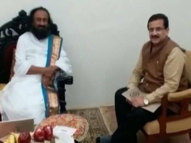 Video : अयोध्या विवाद पर मध्यस्थता की कोशिश में श्री श्री रविशंकर