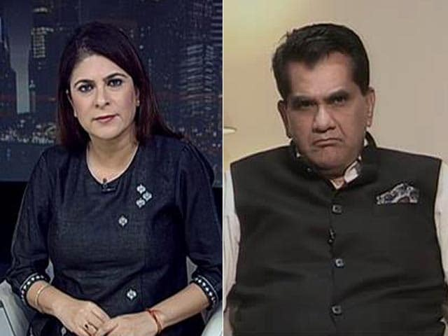 Video : India Can Jump To Top 50: NITI Aayog CEO On Ease Of Doing Business