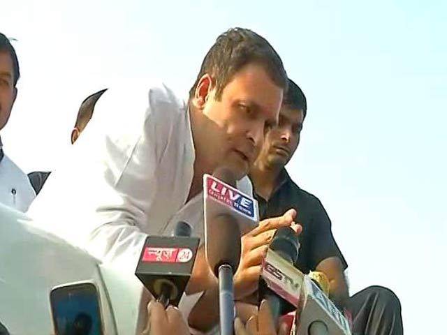 Video : In Gujarat, Rahul Gandhi Derides Arun Jaitley Over Ease Of Doing Business