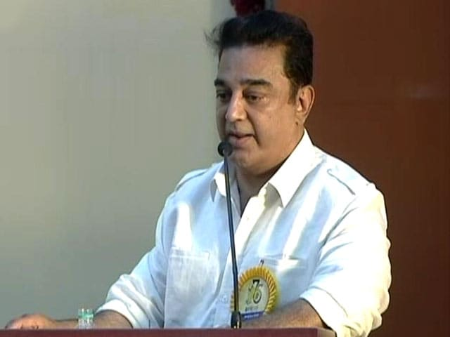 Video : Right-Wing Cannot Deny Hindu Terror Groups, Says Kamal Haasan