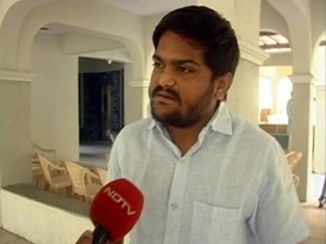 Video : Will Support Congress, Says Hardik Patel, Amid Allegations of Sell-Out