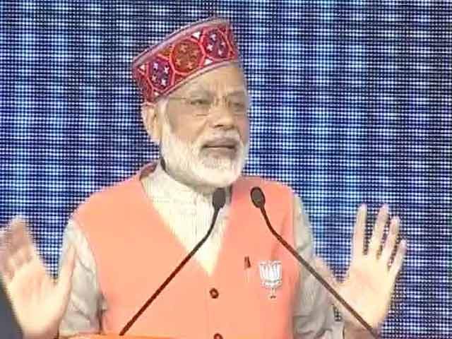 Video : PM Modi Reaches Out To Patidars In Gujarat