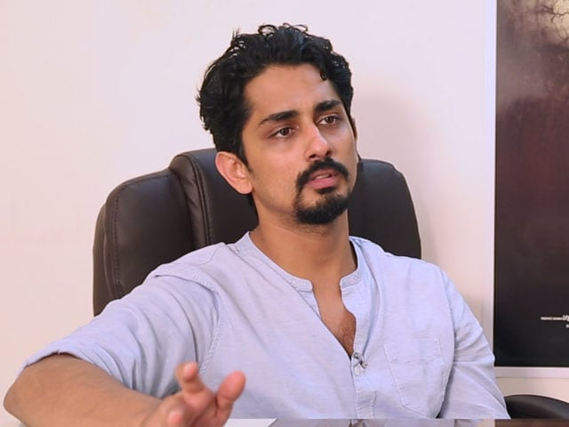 'நாங்க மக்கள் பயத்தோட விளையாடிருக்கோம்' - நடிகர் சித்தார்த்