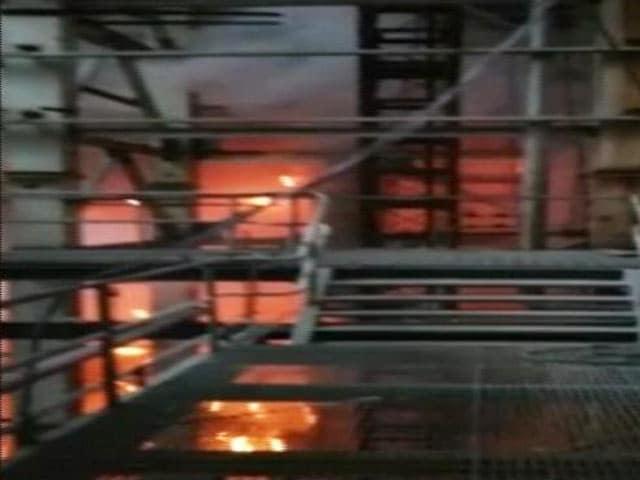 Video : रायबरेली में एनटीपीसी के बॉयलर में हुए धमाके के ठीक बाद का वीडियो मिला
