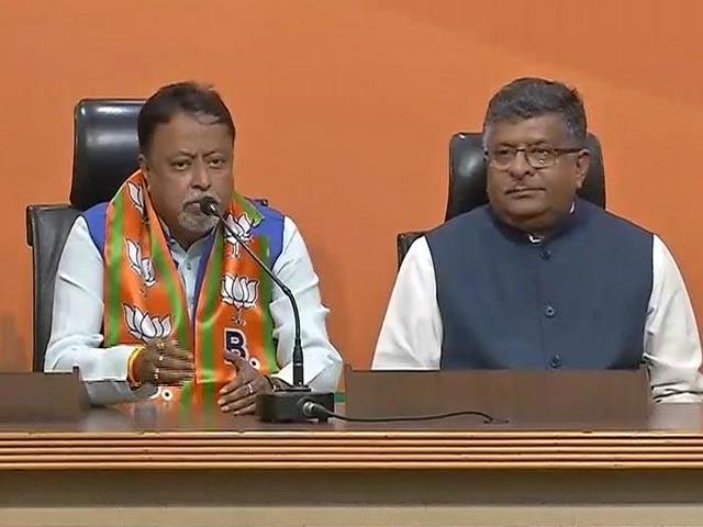 Video : तृणमूल कांग्रेस के पूर्व नेता मुकुल रॉय बीजेपी में हुए शामिल