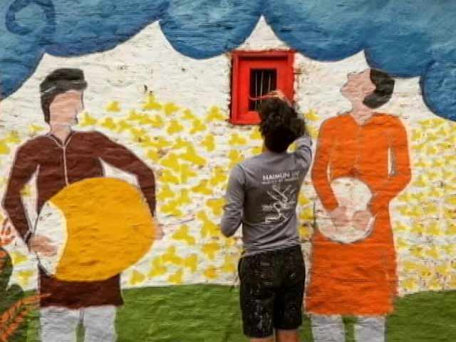 Video : Art Matters: Project FUEL, Painting The Ghost Villages Of Uttarakhand