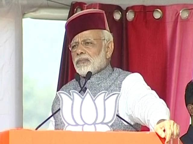 Video : Congress Like Termites, Wipe Them Out, Says PM Modi In Himachal