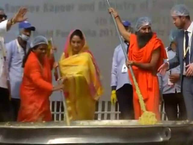 Video : 918 Kgs Of Khichdi, It's A Guinness World Record!