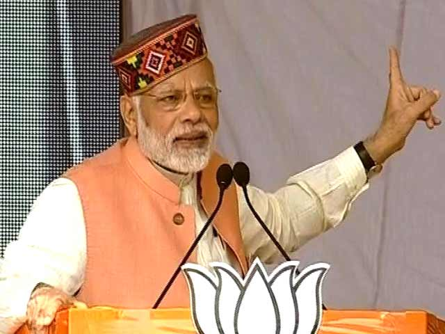 Video : Congress Has Run Away From The Battlefield, Says PM Modi In Himachal