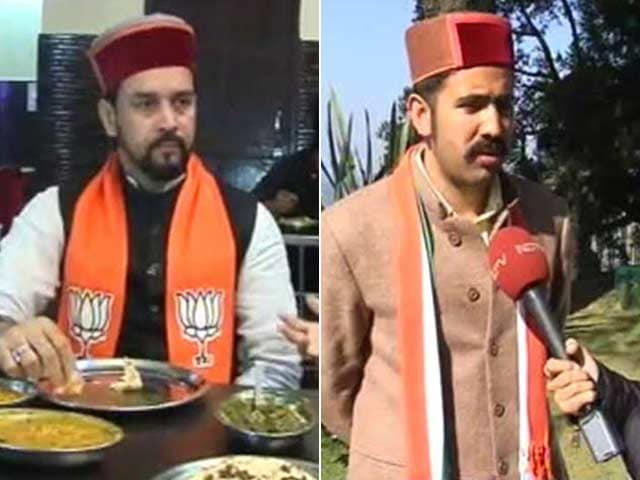 Video : As BJP, Congress Seniors Race In Himachal, Sons Step Out Of Their Shadow
