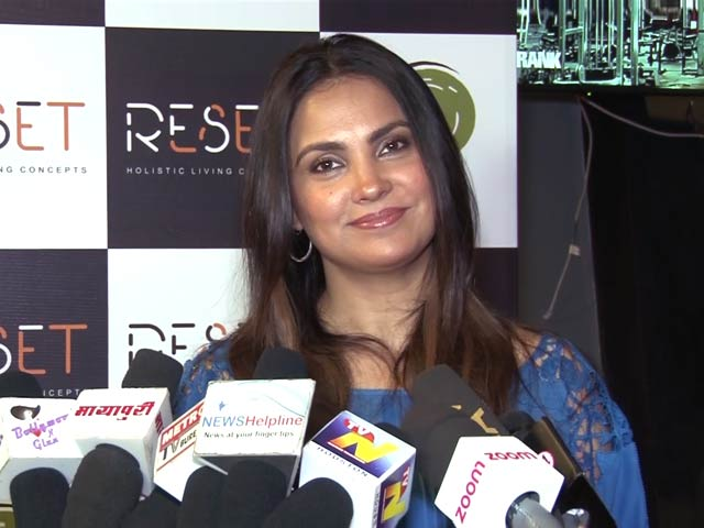 Video : Lara Dutta Shares Her Fitness Mantra