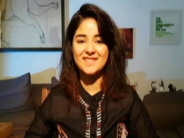 Video : Aamir Khan Is Not A Mentor, He's A Friend: Zaira Wasim