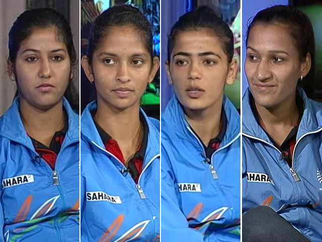 The Real 'Chak De' Girls