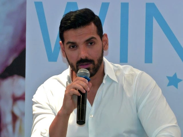 John Abraham Motivates & Inspires School Children