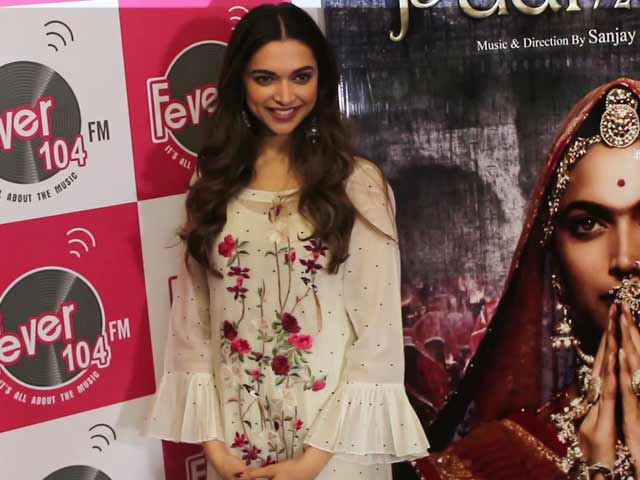Video : <i>Padmavati</i> Star Deepika Padukone On Shooting <i>Ghoomar</i>