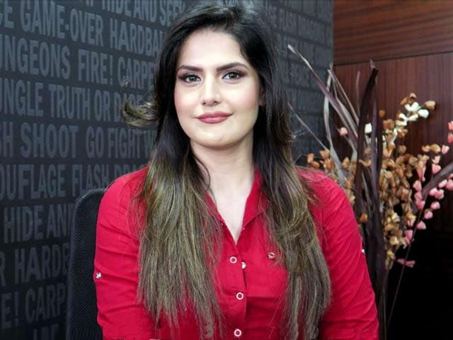 Video : Zareen Khan Shares Her Diet & Daily Fitness Routine