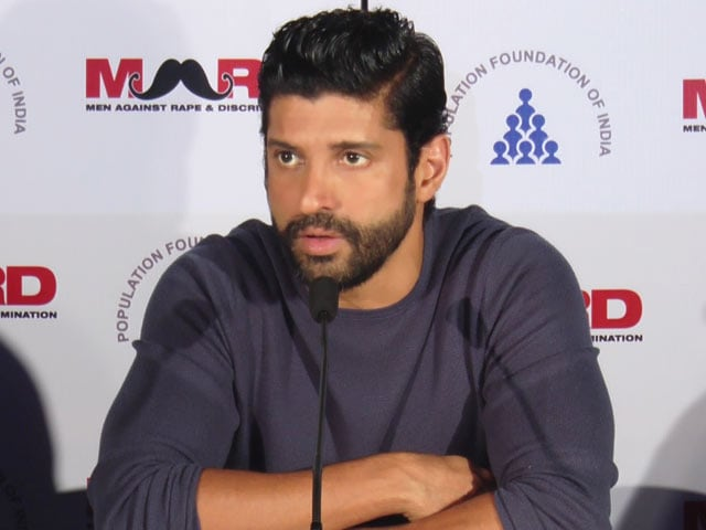 Farhan Akhtar Answers Tough Questions On Gender Inequality In Bollywood