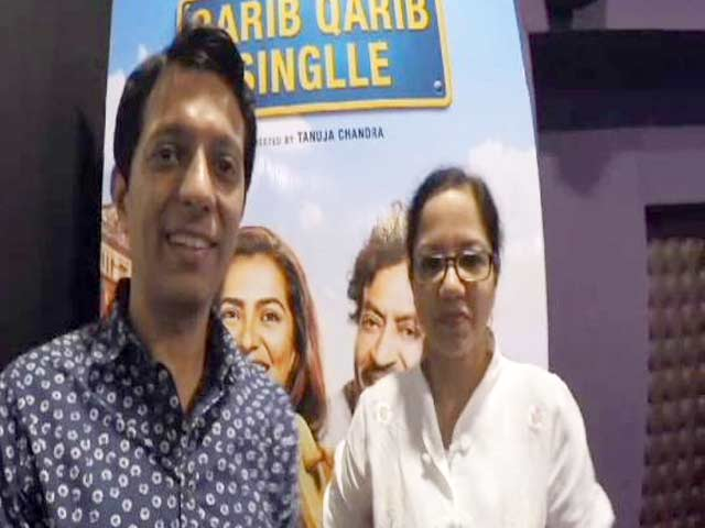 Video : Tanuja Chandra On Exploring Dating Apps For <i>Qarib Qarib Singlle</i>