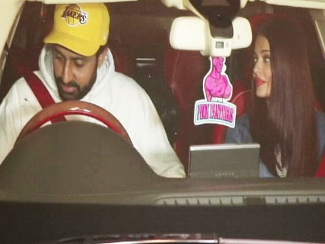Video : Abhishek Bachchan Checks With The Paparazzi If They Clicked Inappropriate Photos Of Aishwarya